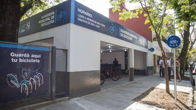 Nueva guardería municipal de bicicletas en la Estación de San Isidro