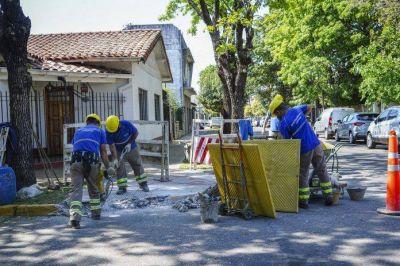 Continúa la instalación de rampas de accesibilidad en Vicente López