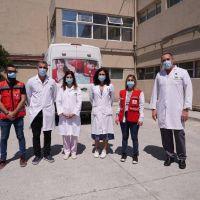 Cruz Roja Argentina y Coca Cola Argentina entregaron insumos al equipo médico del Hospital Municipal Santamarina