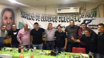 Jaboneros recibió a la Juventud Sindical Nacional y Dirigentes del FreSiMoNa