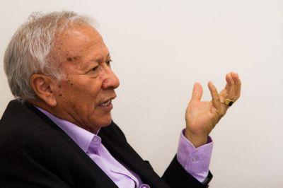 Argentino «Tito» Geneiro: «Lo ideal sería un solo Secretario General, pero hoy no tenemos un Saúl Ubaldini»