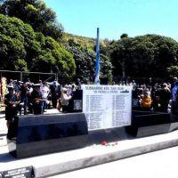 Inauguraron un memorial en honor a los tripulantes del Ara San Juan