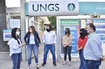 Malvinas Argentinas: El Plan Maestro de Arbolado Público llegó a la Universidad Nacional de General Sarmiento