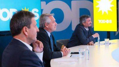 El Frente de Todos vuelve a mostrar unidad en un acto para recordar a Néstor Kirchner