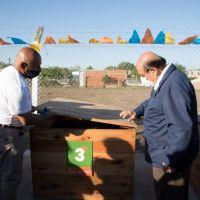 Berazategui: El barrio Lealtad en Puerto Argentino ya cuenta con un Ecopunto