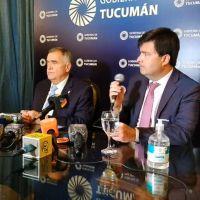 """Asumió Agüero Gamboa y el gobernador Jaldo anunció que """"comienza una nueva etapa"""" para la Seguridad en Tucumán"""
