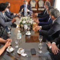 Concejales del bloque peronista de la capital se reunieron con el gobernador Jaldo