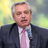 Elecciones 2021: Alberto Fernández de campaña en Avellaneda