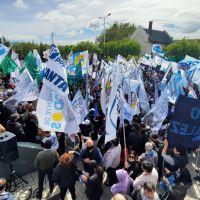Enorme movilización del Frente de Todos recordando a Néstor Kirchner