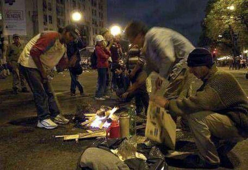"""Para An�bal Fern�ndez, """"la protesta en la 9 de Julio es un capricho"""""""