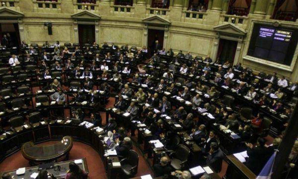 """Diputados buscará aprobar la suspensión de la """"ley cerrojo"""""""
