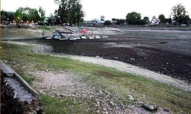Producto de la fuerte sequía, el agua de Cosquín ya no es potable