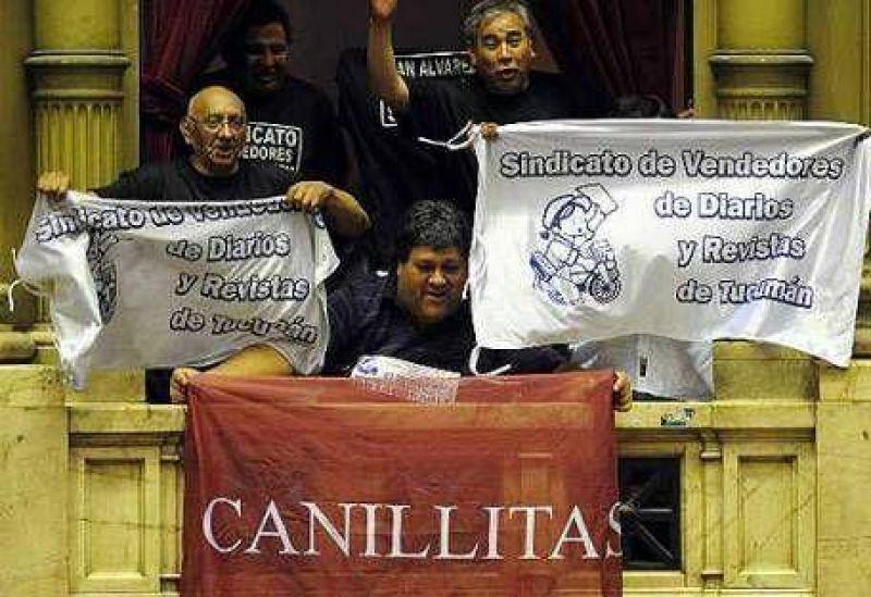 """Giudici: """"El decreto sobre canillitas cierra la dominación a la prensa"""""""