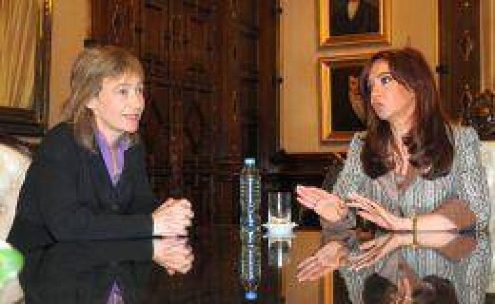 Luego de la sanción del impuestazo tecnológico, Cristina recibió a Ríos