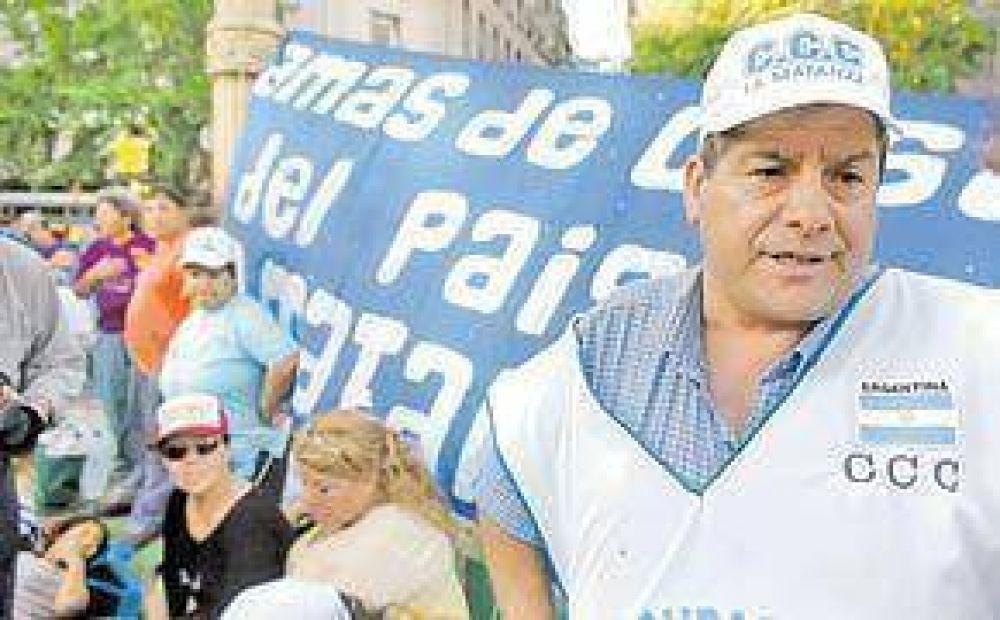 Alderete espera un gesto oficial para no tomar edificios públicos