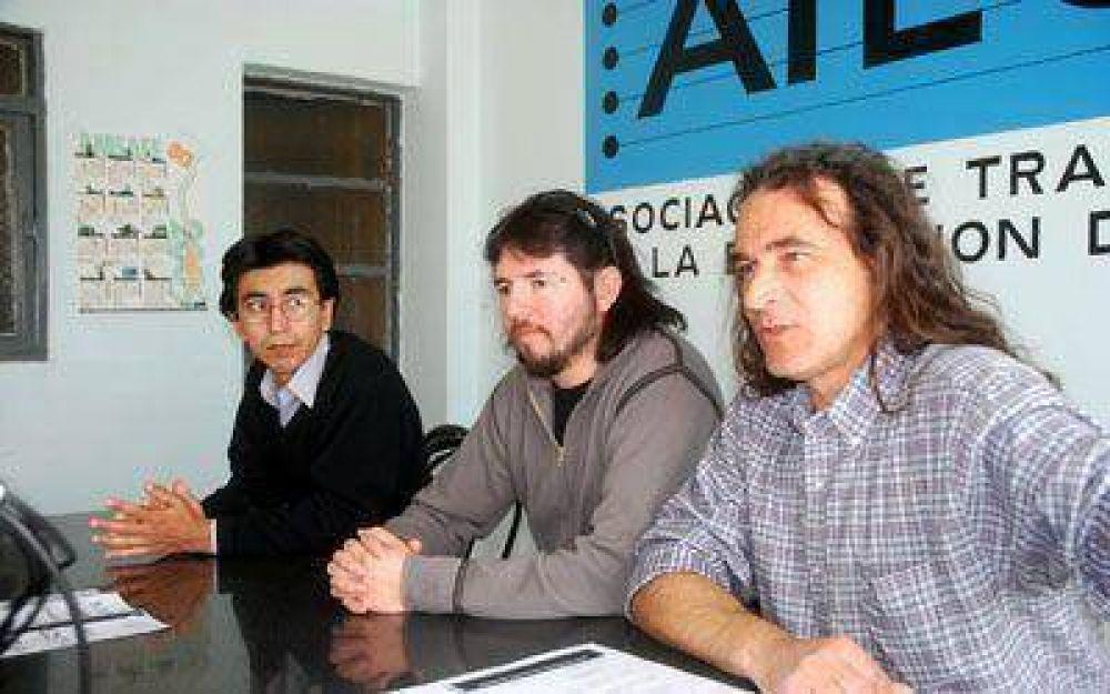 La conducción del gremio docente de Santa Cruz respaldó a la lista Lila local