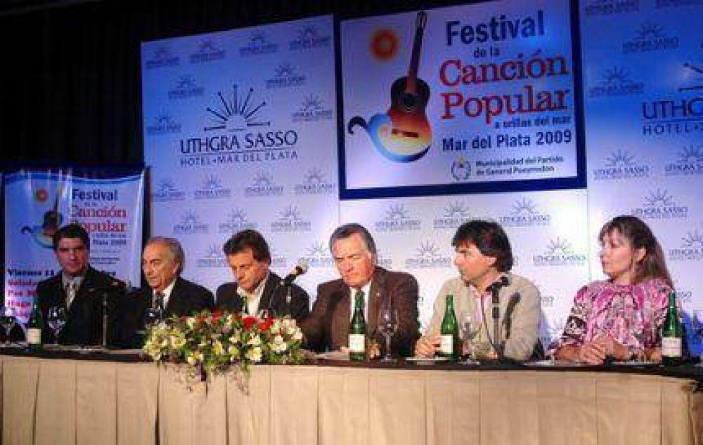 Presentaron el Festival de la Canción Popular a orillas del mar