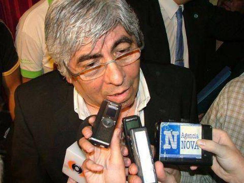 """Hugo Moyano: """"Nunca entiendo lo que dice Das Neves"""""""