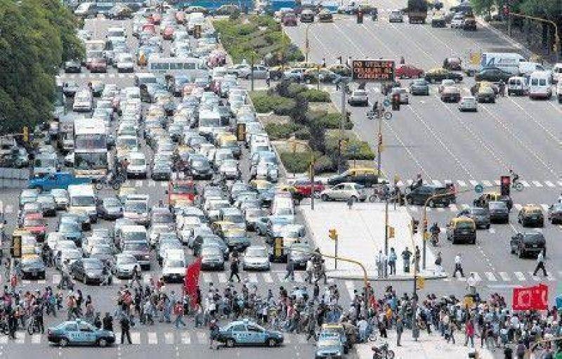 Otro día de protestas en la ciudad