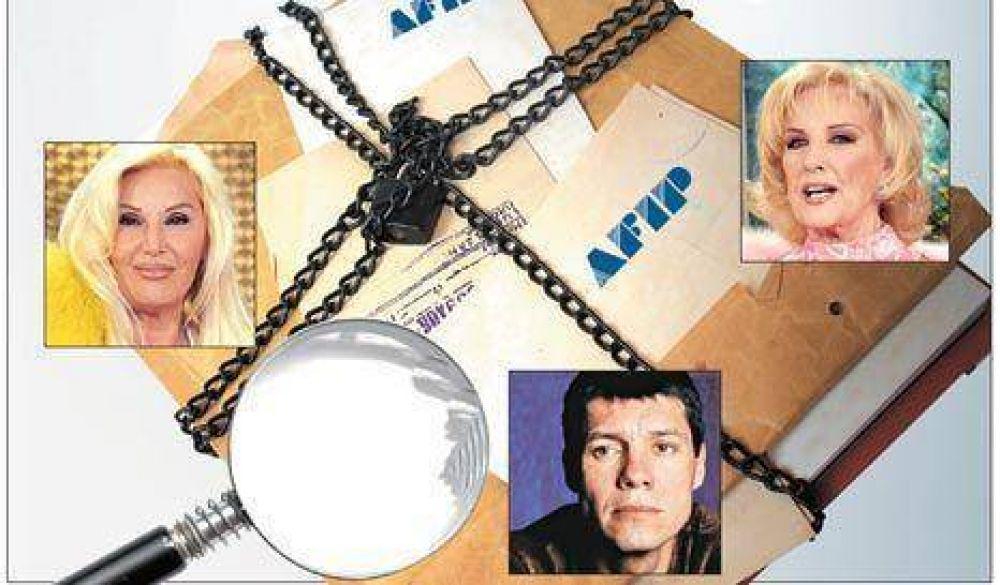 Cristina ya tiene los informes de impuestos de Tinelli, Mirtha y Susana