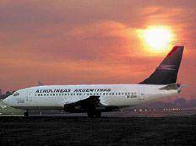 Plan para que Aerolíneas levante vuelo