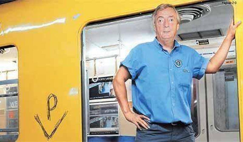 "Kirchner se reuni� en secreto con la ""zurda loca"" del subte para negociar"