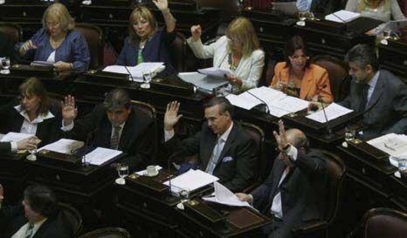 Maratónica sesión en el Senado para cerrar leyes económicas y de DD.HH.