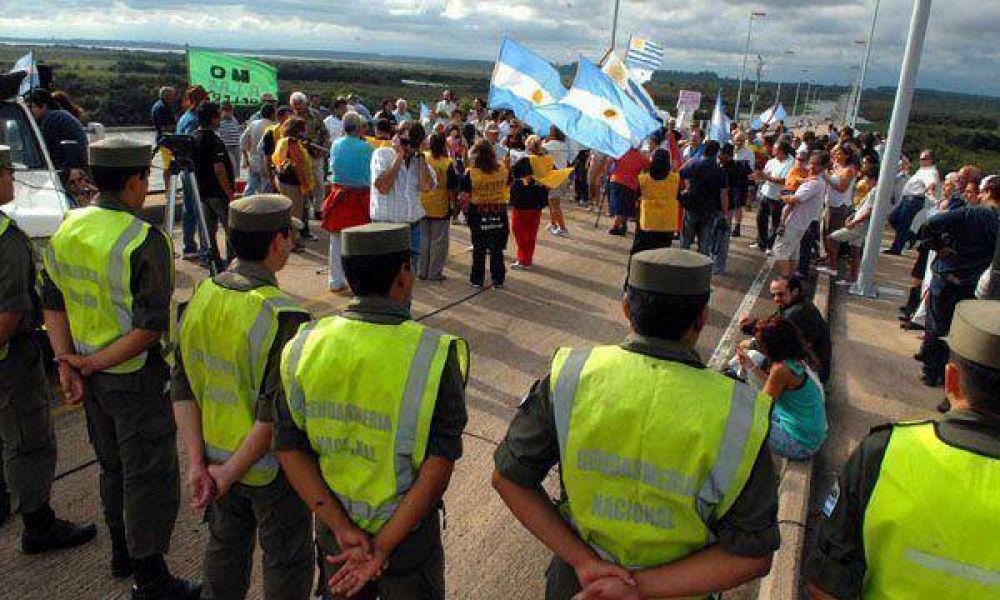 Gualeguaychú: rechazaron levantar el corte antes de que finalice el año