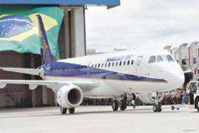 Volar con viento brasile�o de cola