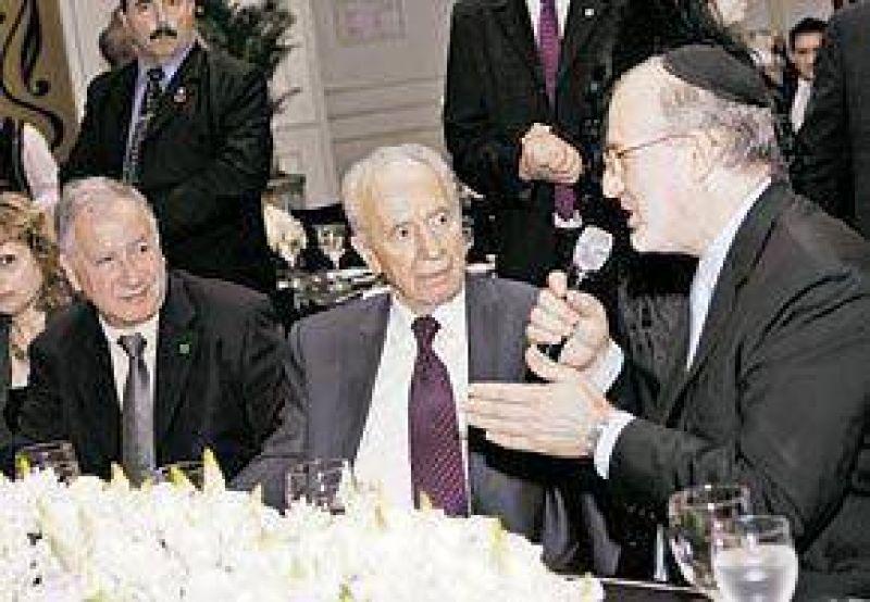 Noche de tango, negocios y política en una cena con Shimon Peres