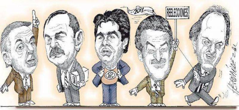 Fiebre por la reelecci�n 2011 ya alcanza a decena de gobernadores