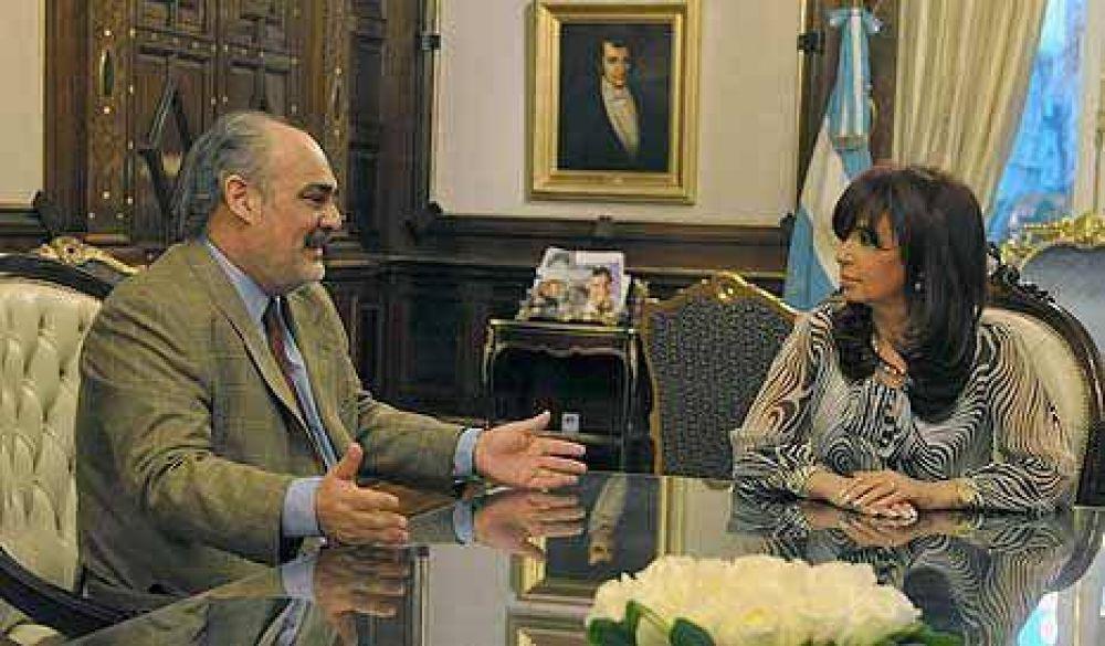 "CFK fue último tramo de la gira de ""Borocó"" Colombi"