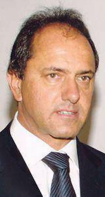 Ensaya Scioli el regreso de Montoya a su gabinete
