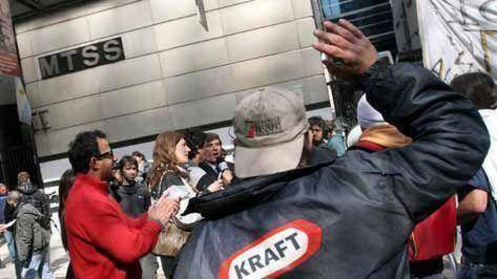 Kraft negó haber violado el acuerdo con Trabajo