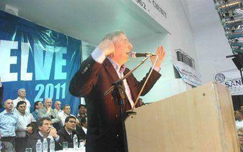 Kirchner trajo a Chubut un mensaje de unidad