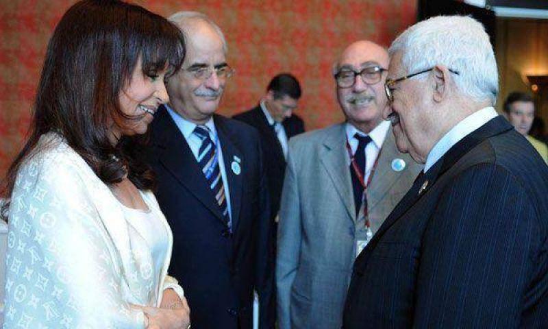 Abbas llega hoy al país y mañana se reúne con Cristina Kirchner