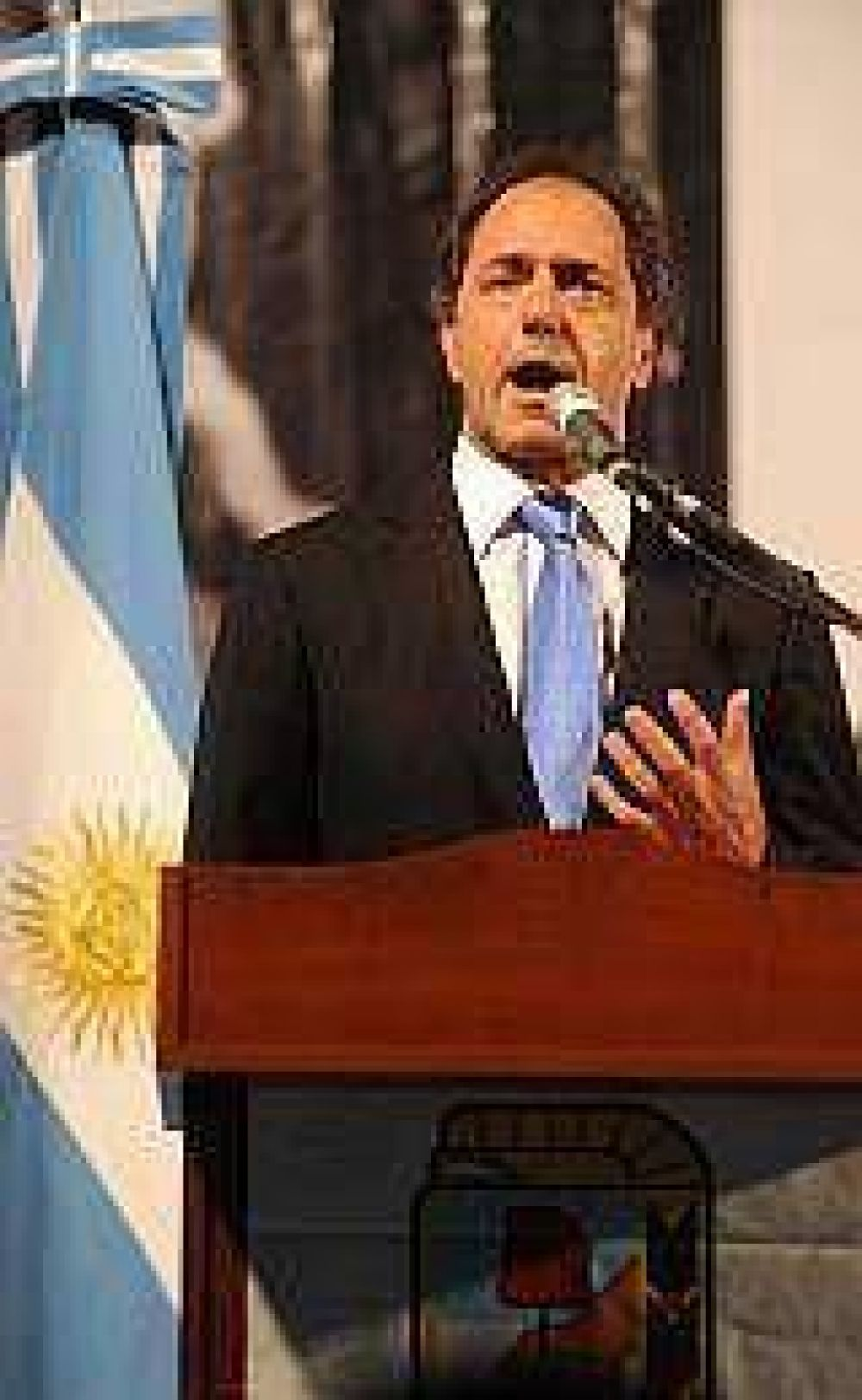 Scioli respaldó a Stornelli y no descartó una vuelta de Montoya al gabinete provincial