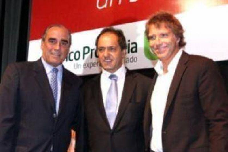 """Scioli y Francos presentaron """"Provincia Microempresas"""""""