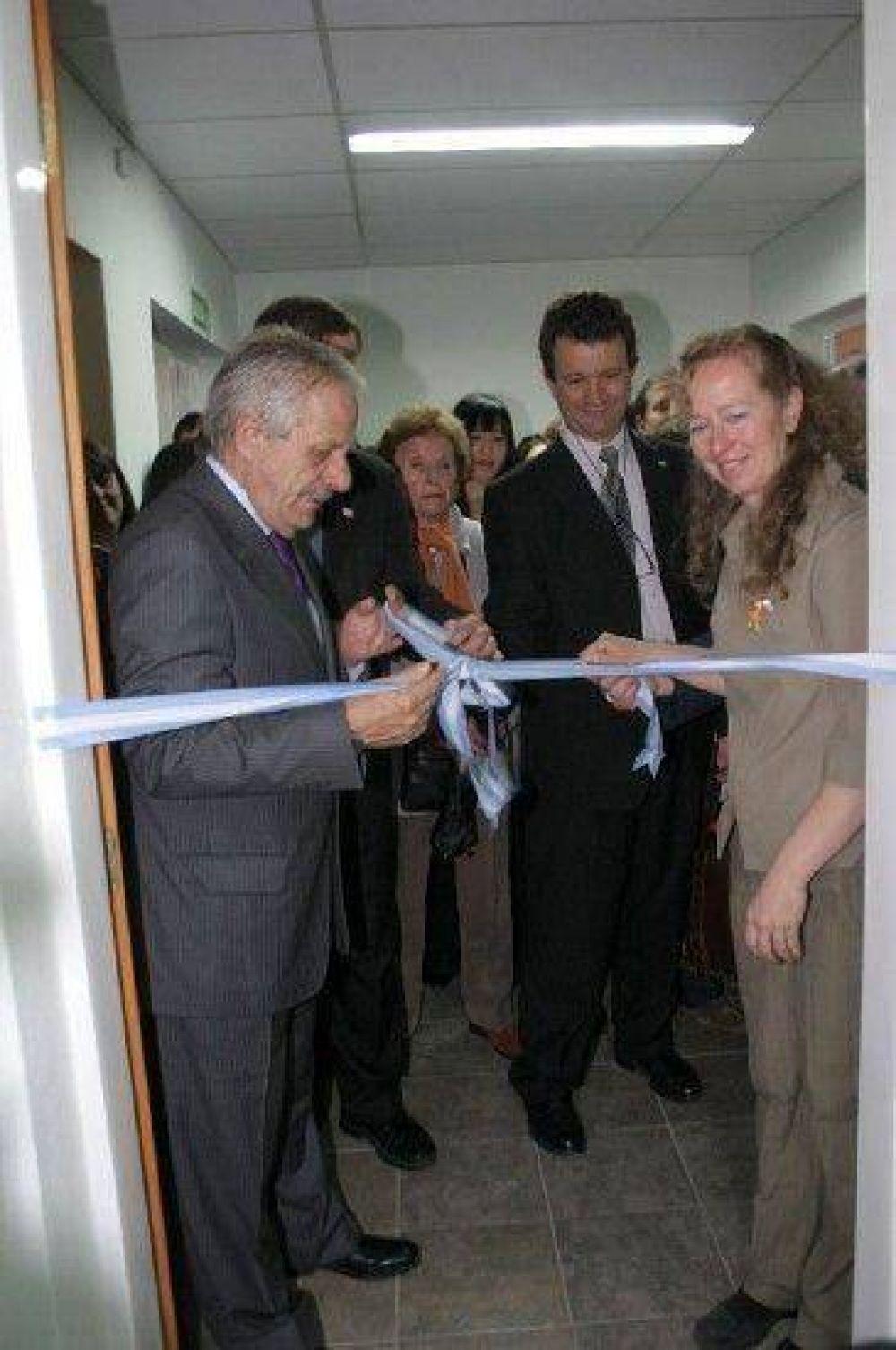 Inauguraron flamantes instalaciones del Caina en Bariloche