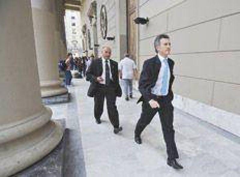 El d�a en que a Macri lo dejaron en capilla