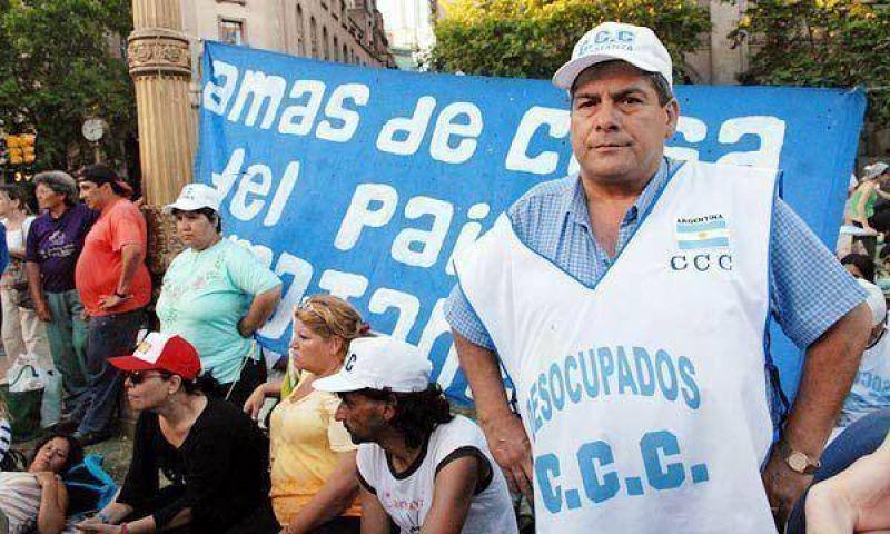Nuevas marchas de los piqueteros complicarán el tránsito en la Ciudad