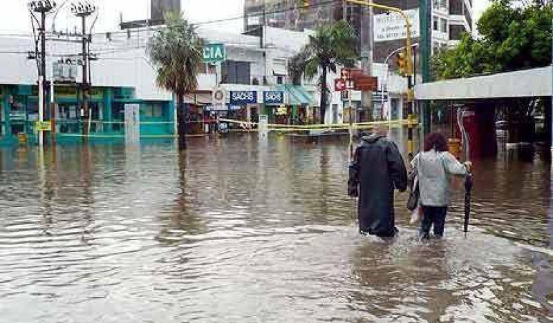 Un temporal de lluvia y viento provoca estragos en el noreste del país