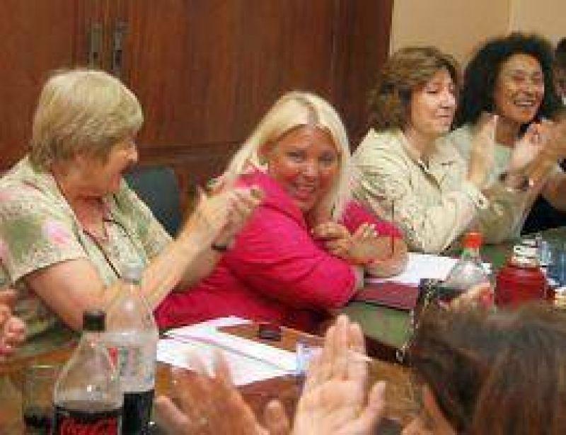 Carrió presidirá el bloque de la Coalición Cívica en Diputados