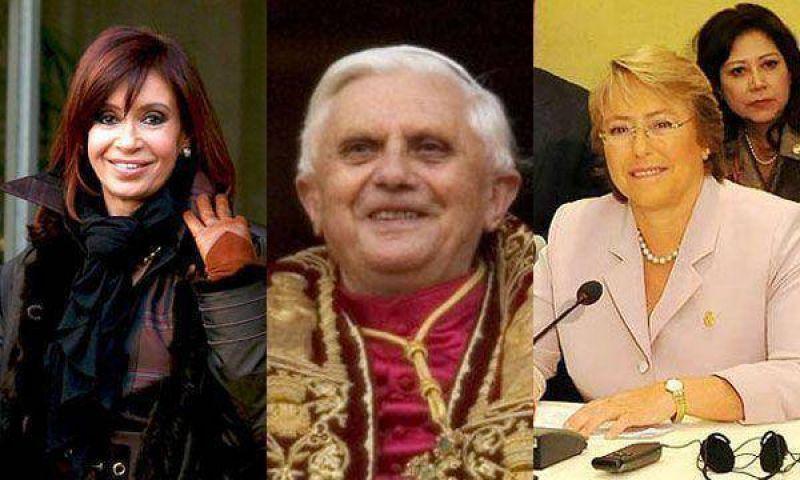 La Presidente se reunirá a solas con el Papa Benedicto XVI