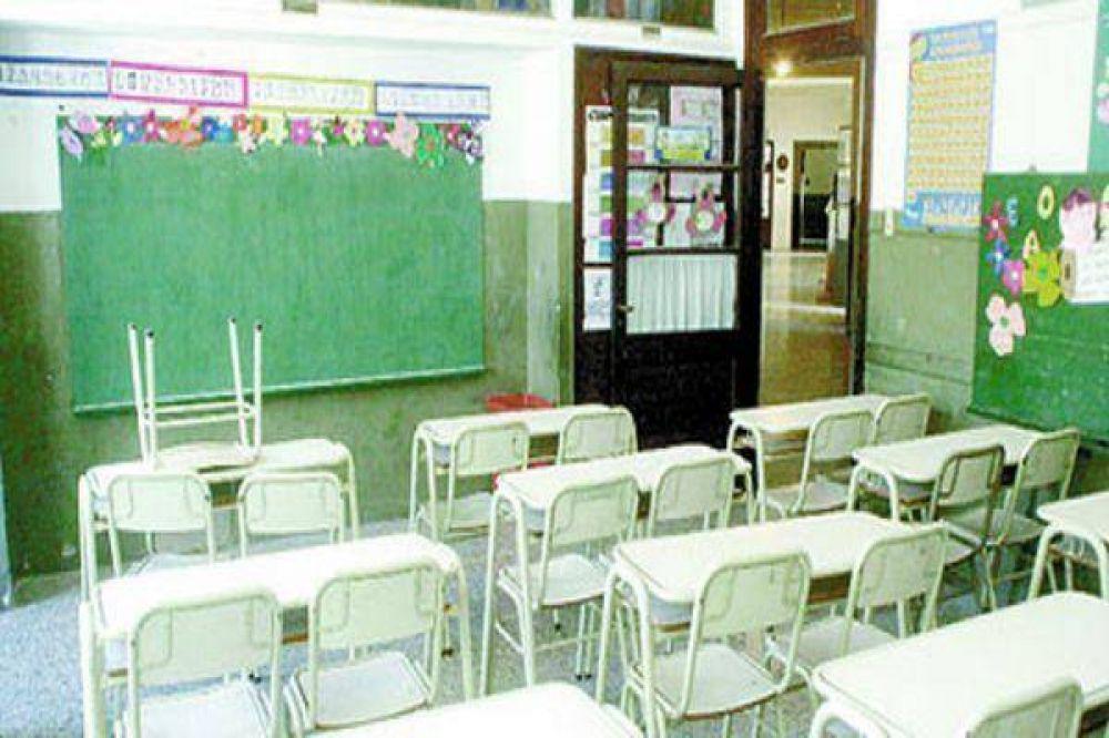 Descontarán $ 66 a cada docente por día de paro