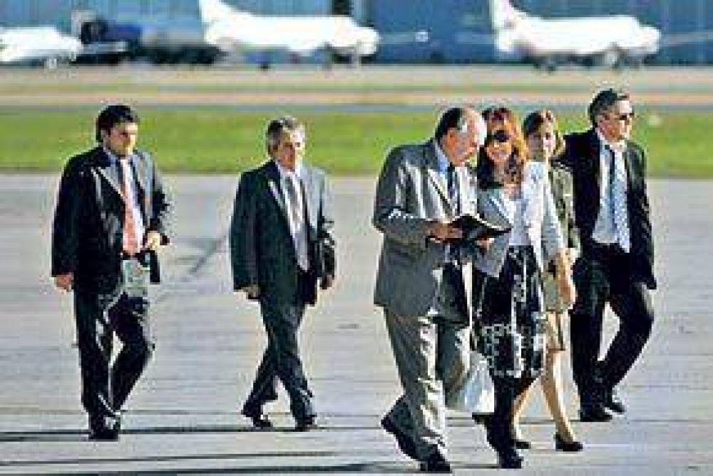 Cristina llega a Roma para recordar con el Papa el acuerdo por el Beagle