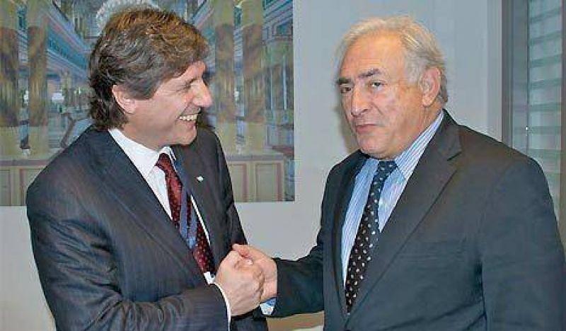"""Boudou dijo que """"Argentina nunca se fue del Fondo"""""""
