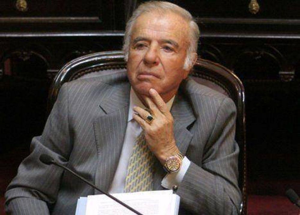 Menem le pegó a los Kirchner y piensa en el 2011