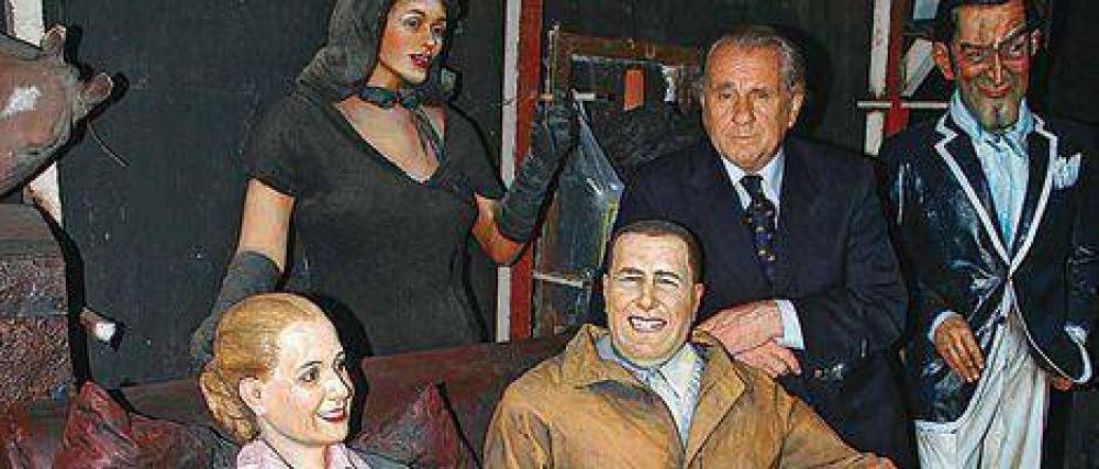 Camioneros encargó al artista Pugliese una estatua para endiosar a Moyano