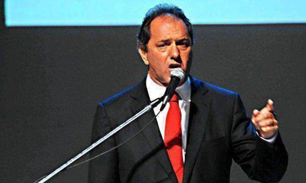 Daniel Scioli propondrá reformas para evitar las excarcelaciones